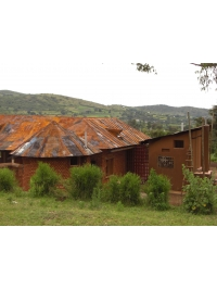 Foundation House by Rwenzori Art Centre